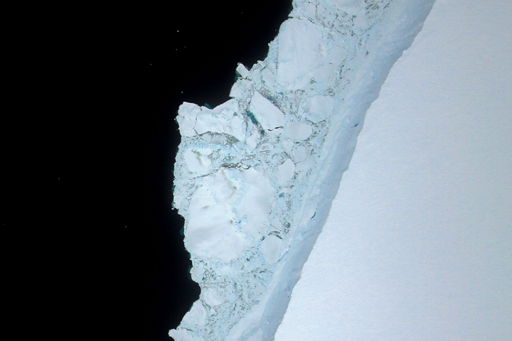A Birdseye View of Iceberg A-68A - selected image