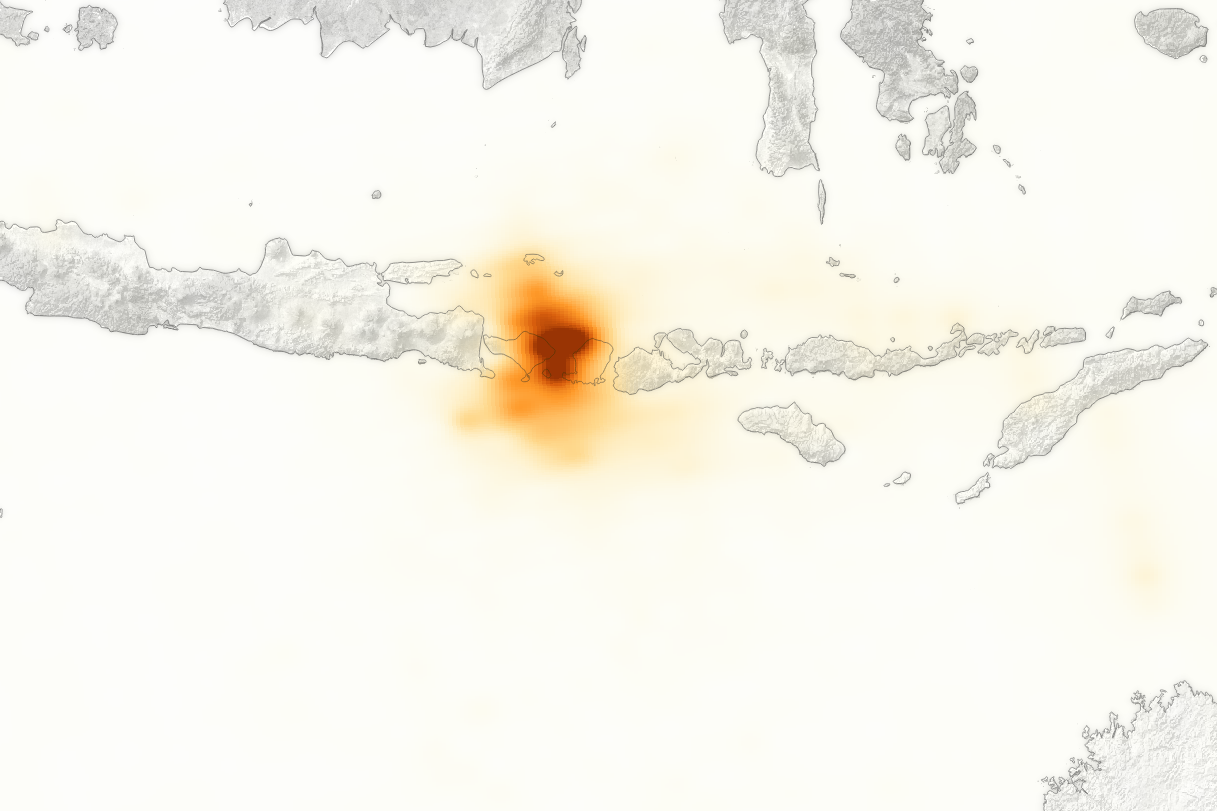 Tracking the Sulfur Dioxide from Mount Agung - related image preview