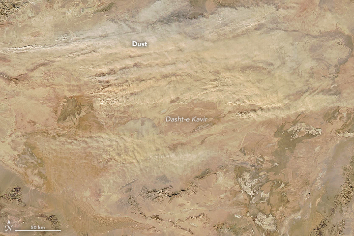 Dust in the Dasht-e Kavir  - related image preview