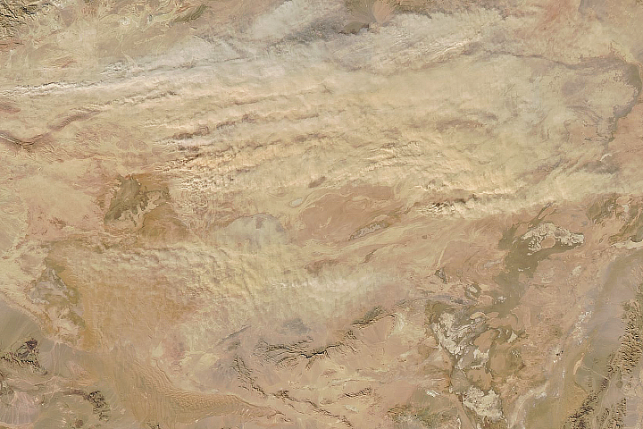 Dust in the Dasht-e Kavir  - selected image