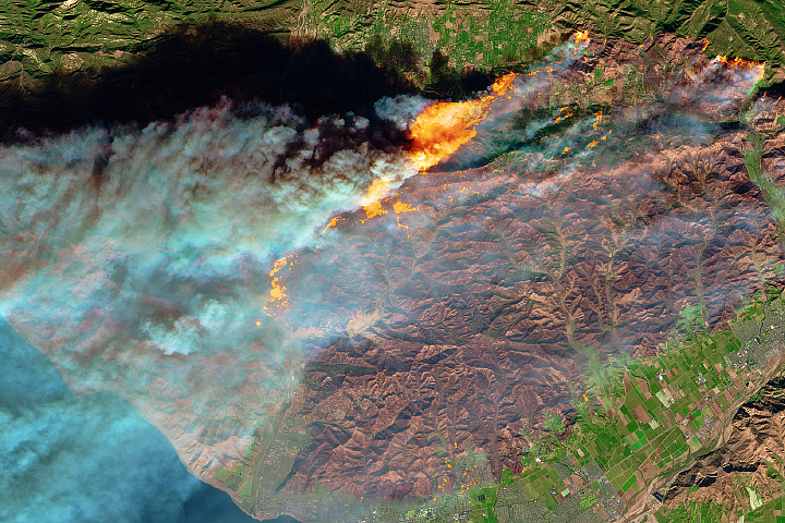 Smoke and Fire in Southern California