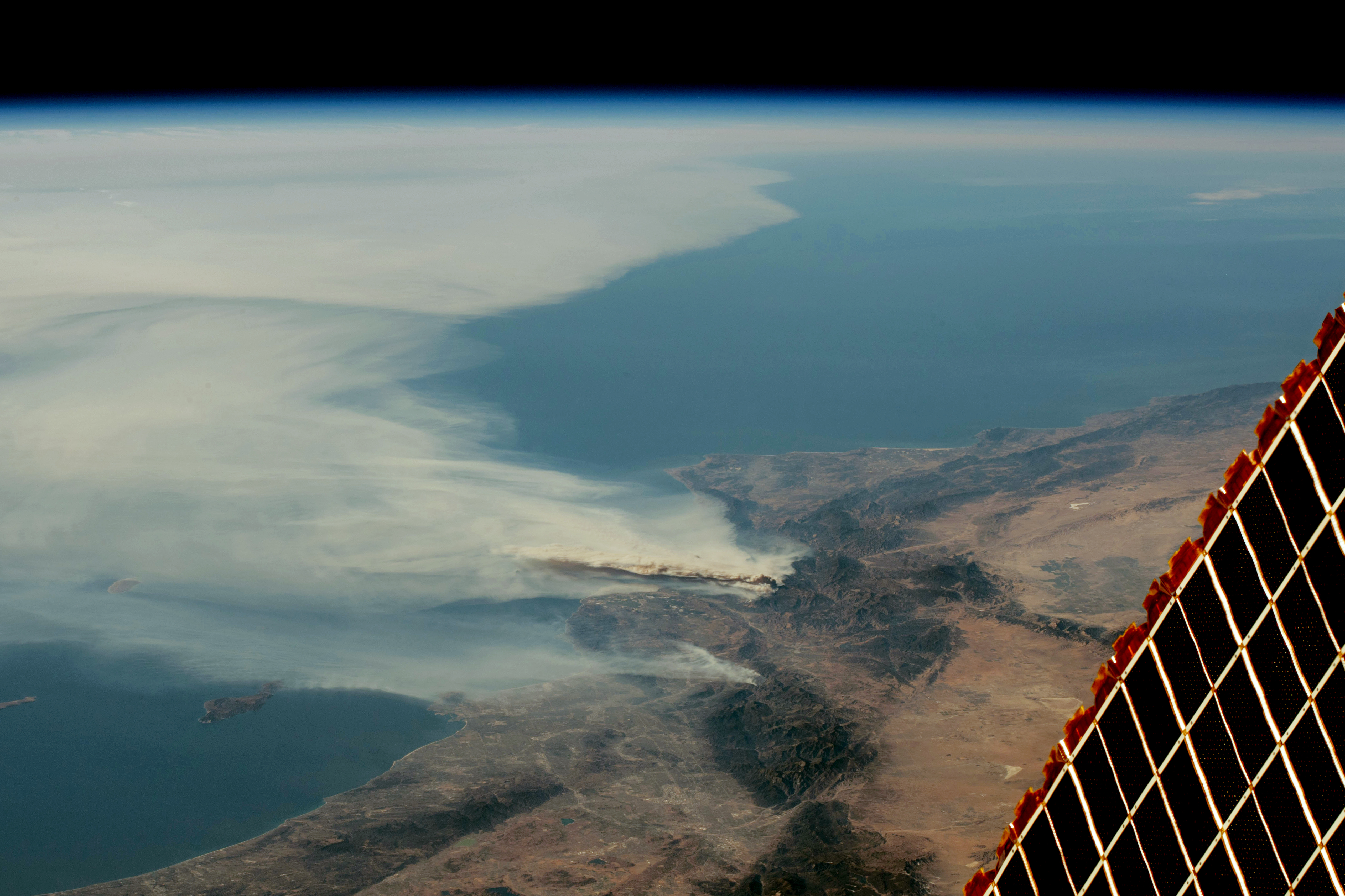 Smoke Over Southern California - related image preview