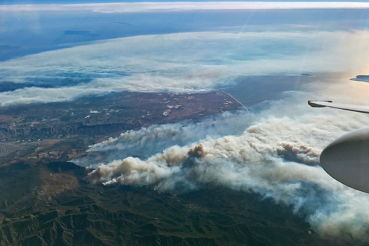 Smoke Over Southern California