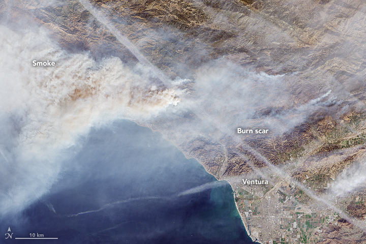 Fires Continue to Rage in Southern California - related image preview