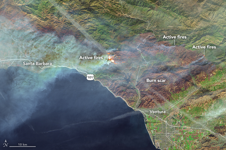 Fires Continue to Rage in Southern California