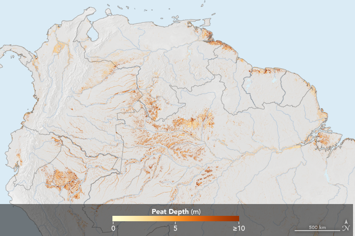 South America is Rich with Tropical Peat - related image preview