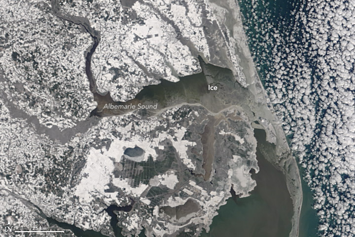 Icy Waters off the U.S. East Coast - related image preview