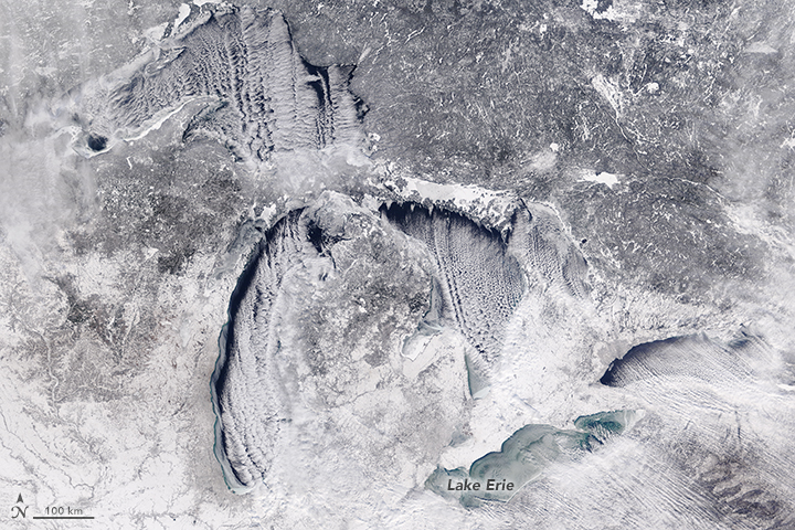 Ice on Lake Erie