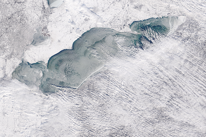 Ice on Lake Erie  - selected image