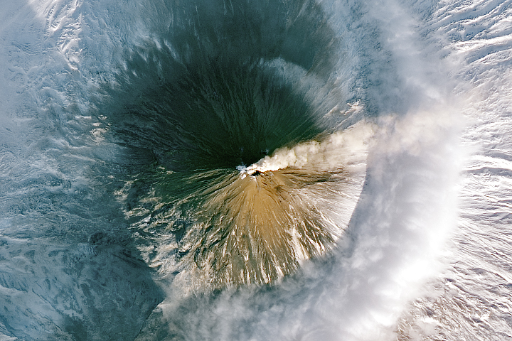 Plumes Over the Kamchatka Peninsula