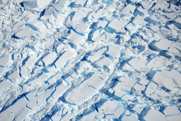 Signs of Flow Atop Antarctic Ice - related image preview