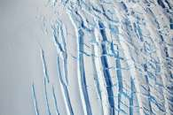Signs of Flow Atop Antarctic Ice
