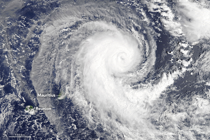 Berguitta Nears Indian Ocean Islands