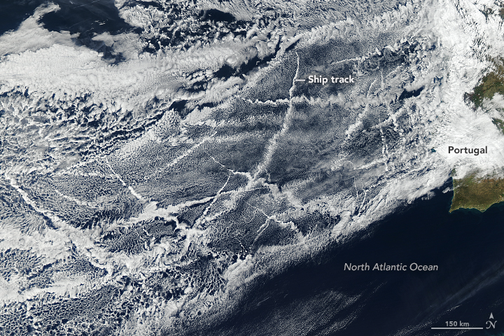 Signs of Ships in the Clouds