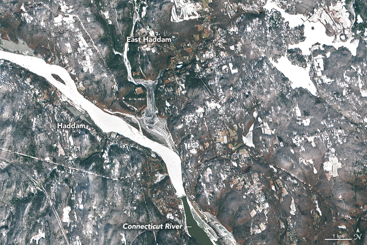 Ice Jams on the Connecticut River - related image preview