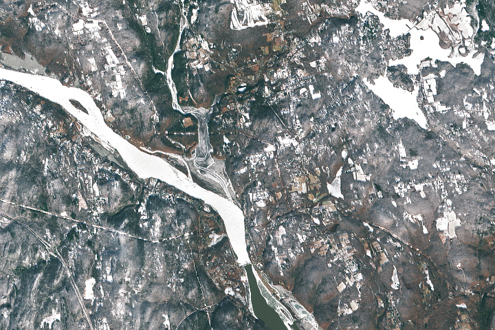 Ice Jams on the Connecticut River
