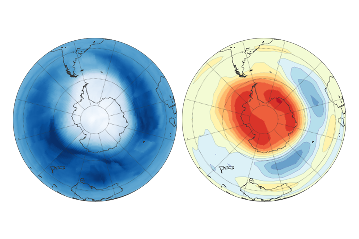 Measurements Show Reduction in Ozone-Eating Chemical