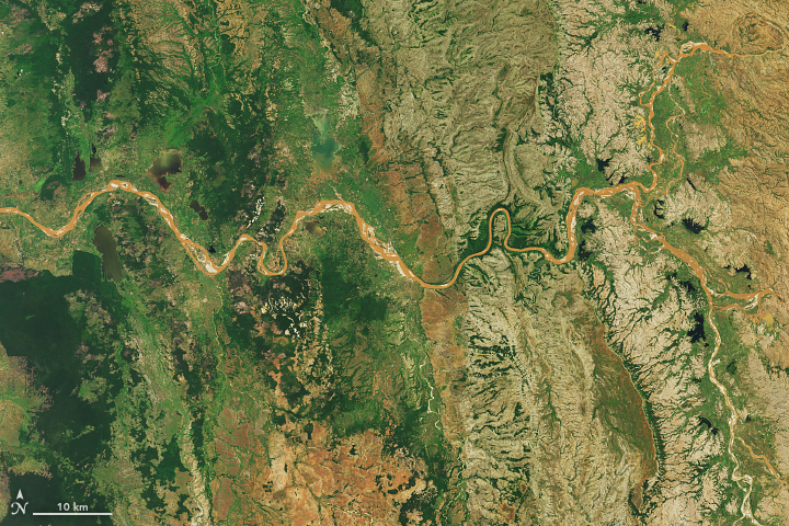 Madagascar's Muddy Rivers
