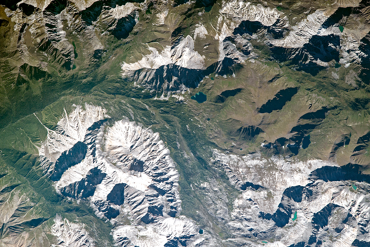 Eastern Sayan Mountains - selected image