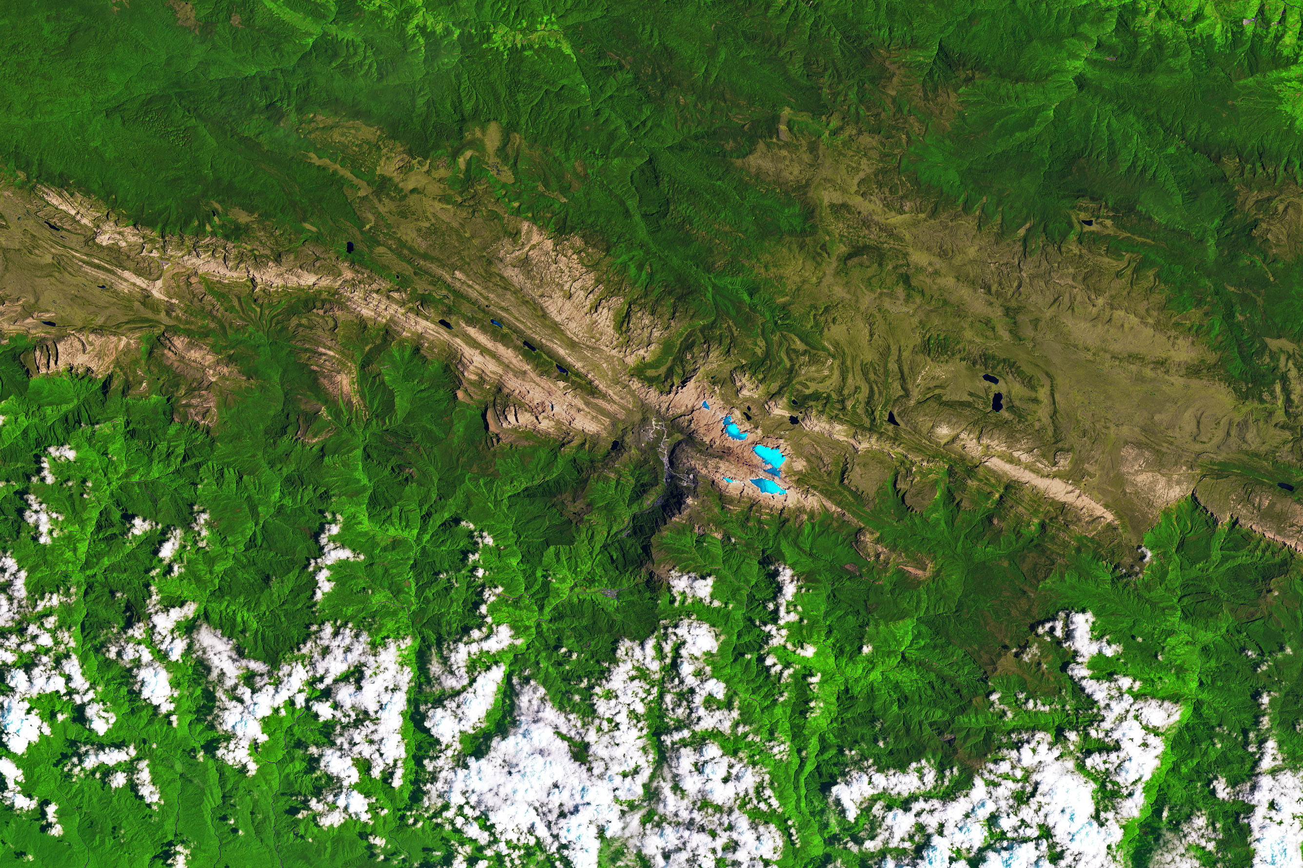 Glaciers in the Tropics, but Not for Long - related image preview