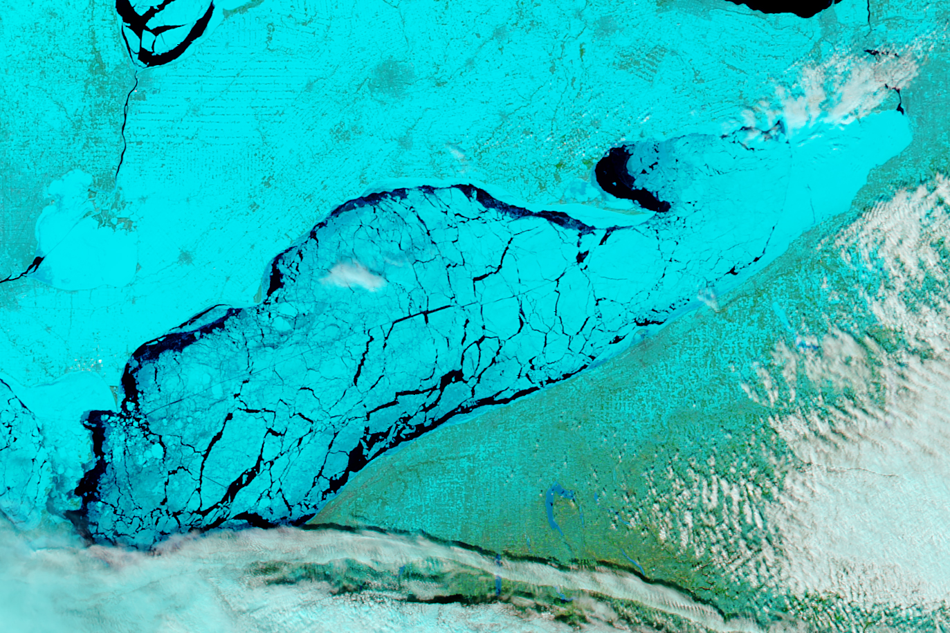 Icy Lake Erie - related image preview