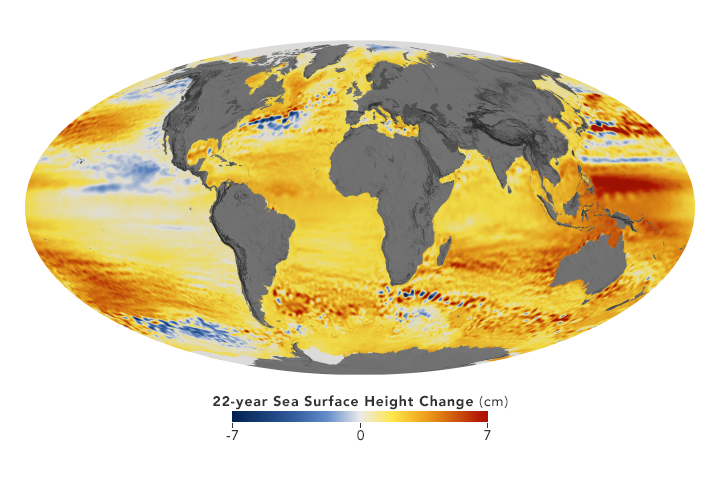 Sea Level Rise is Accelerating