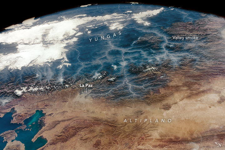 Smoky Andean Valleys