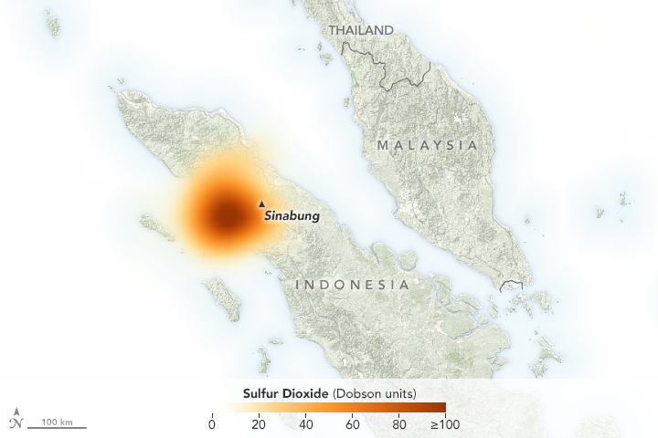 Violent Blast from Sinabung