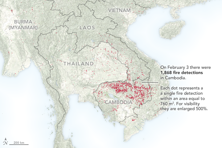 It's Fire Season in Southeast Asia