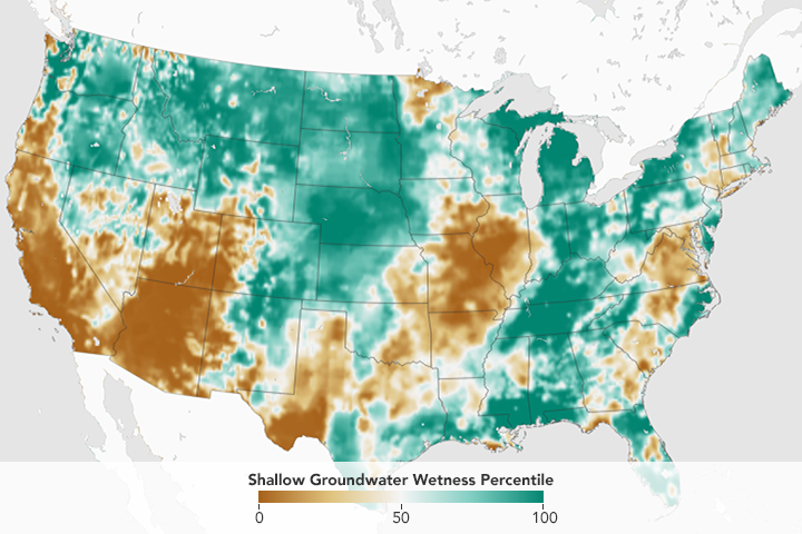 A Dry Winter Brings Drought to the US - related image preview