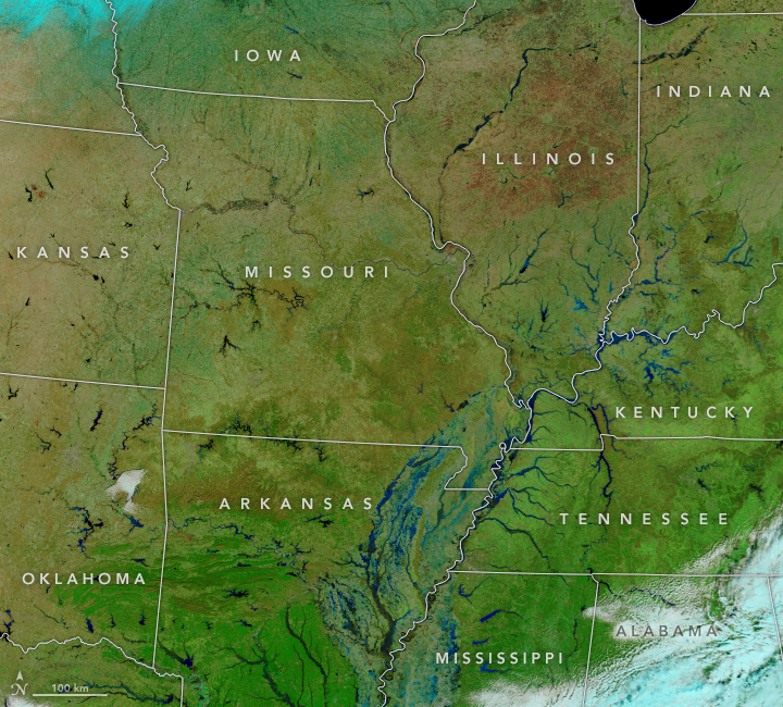 Flooding in the Central and Southern U.S. - related image preview