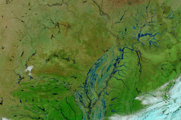 Flooding in the Central and Southern U.S.