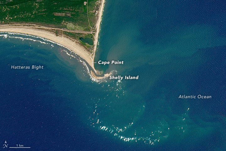 Shelly Island: There and Back Again