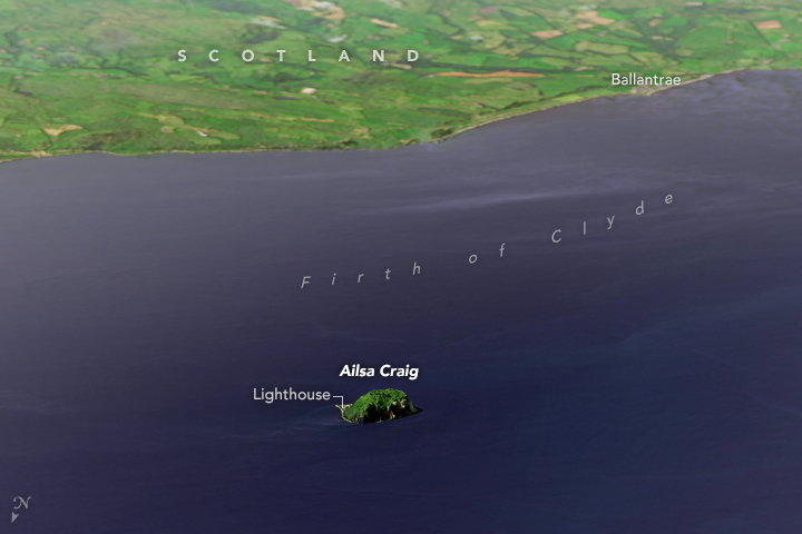 Ailsa Craig - related image preview