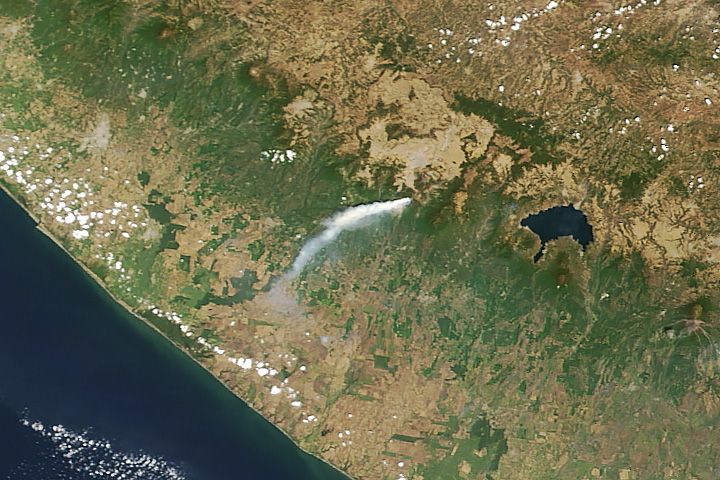 Wildfire on Santa María