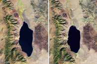 Disappearing Walker Lake