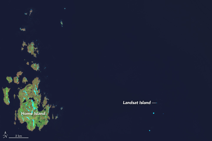 The Island Named After a Satellite