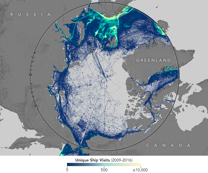 Shipping Responds to Arctic Ice Decline - related image preview