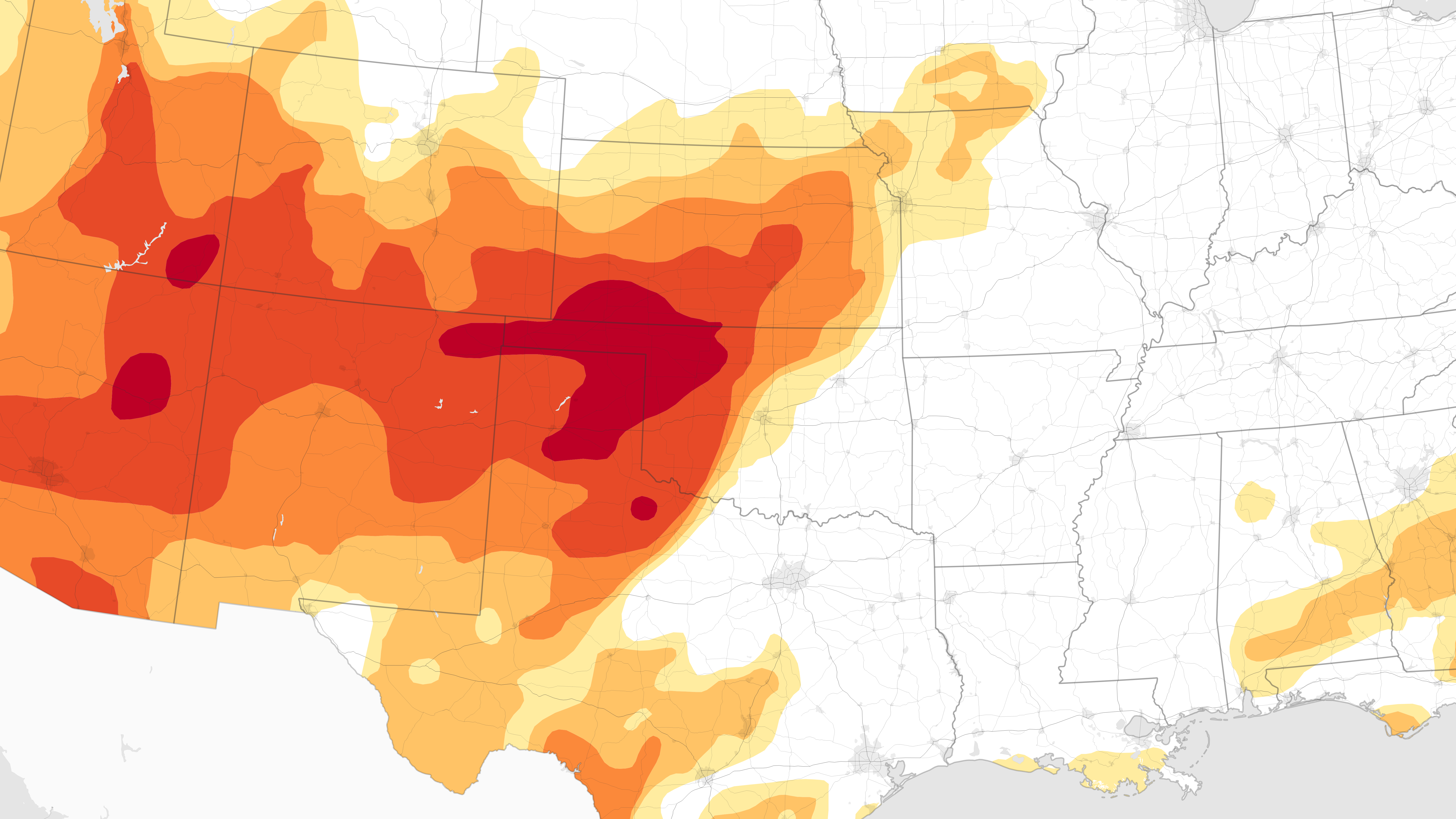 Fires Rage in Oklahoma - related image preview