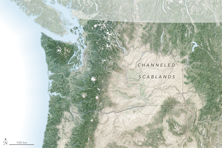 Channeled Scablands - related image preview