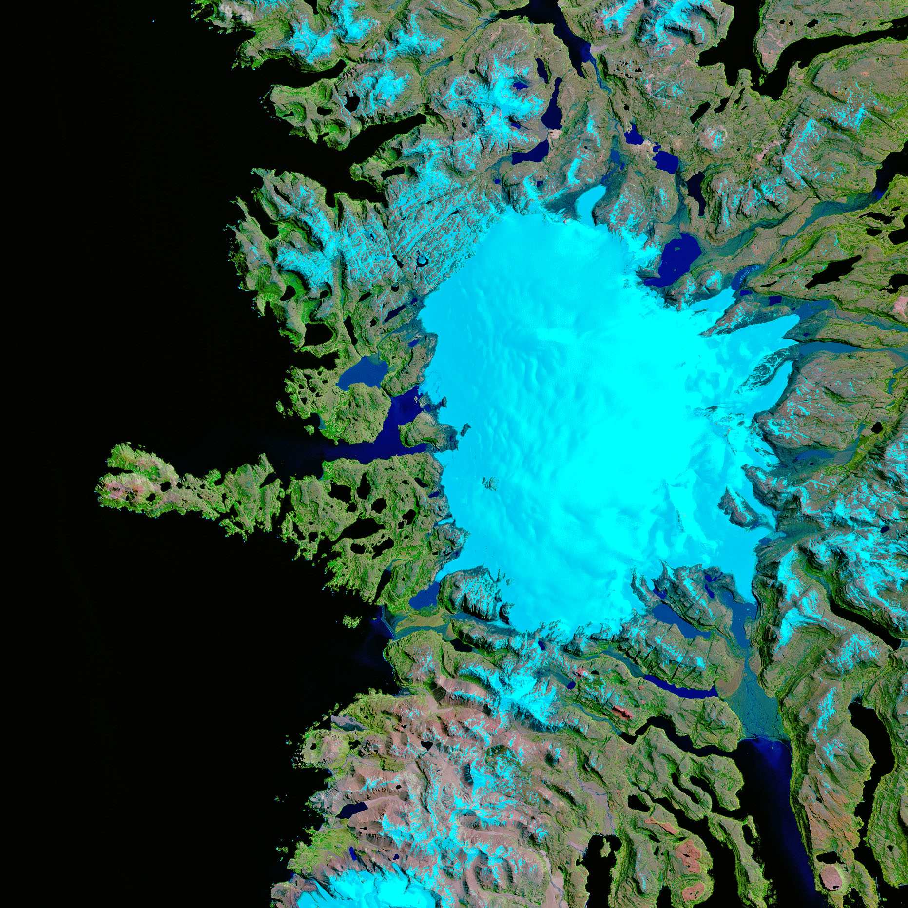 Glacier Retreat at Cook Ice Cap - related image preview