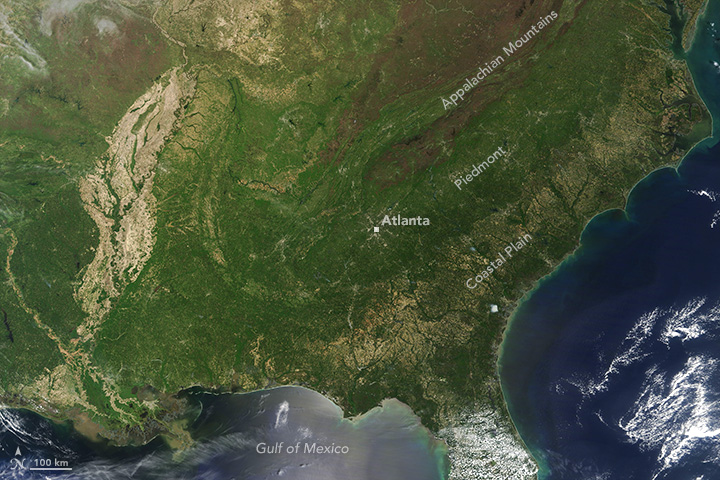 Spring Greening in the Southeast