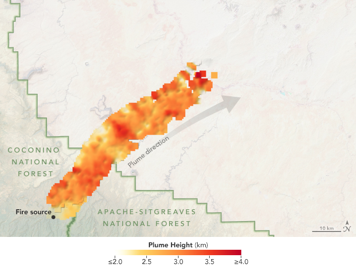 Using Satellites to Track the Tinder Fire