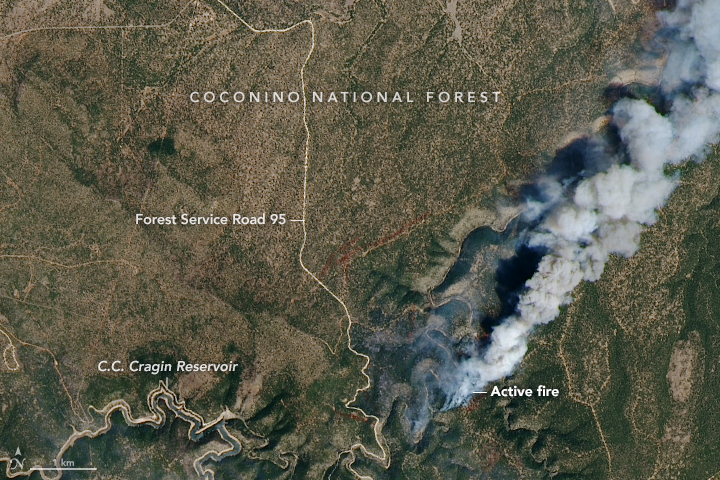 Using Satellites to Track the Tinder Fire - related image preview