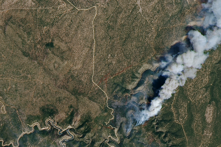 Using Satellites to Track the Tinder Fire - selected image