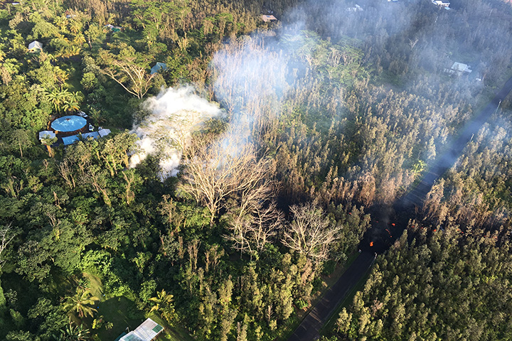 Sulfur Dioxide Leaks from Kilauea - related image preview