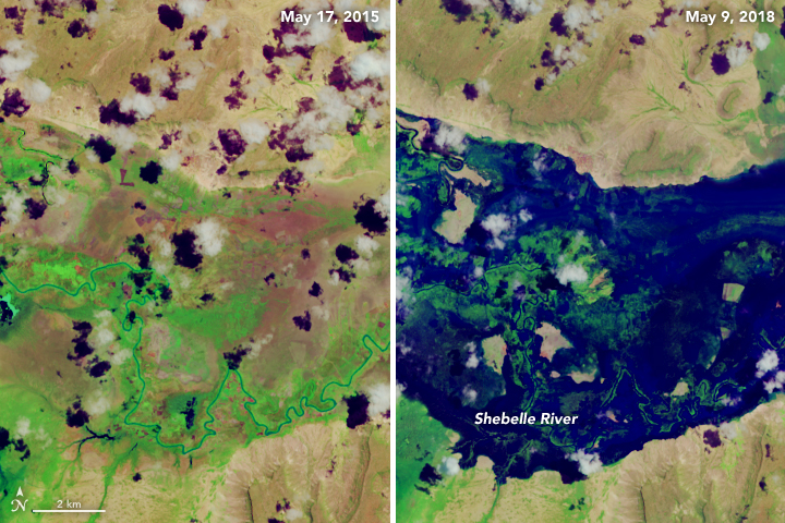 Dramatic Flooding in Eastern Africa