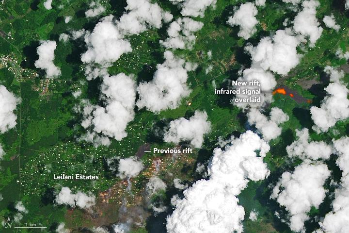 Kilauea Continues to Erupt