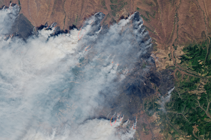 Sweltering, Smoky Fires in Siberia