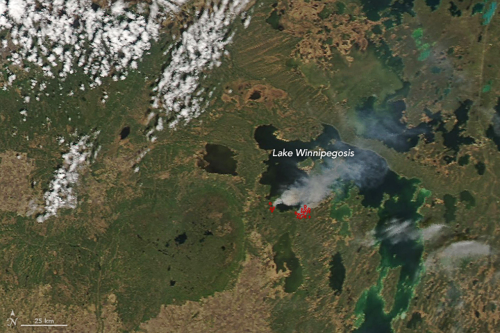 Fires in Manitoba - related image preview
